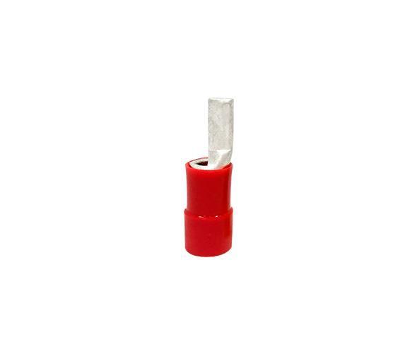 Terminal pino pré isolado 45,0mm 35,0mm 111A, cor vermelho, (pacote 20un.)