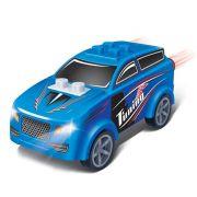 Carro SUV Azul 23 peças