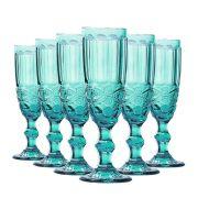 Jogo de Taças Champagne Elegance Tiffany 140ml Class Home