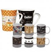 Kit de Canecas para Café 330 e 85 ml - Class Home
