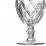 Jogo de Taça Água Diamante Clear Casamiga