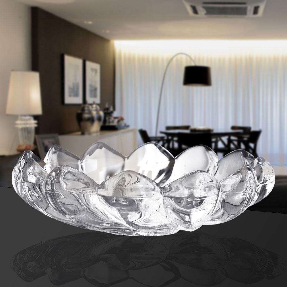 Centro De Mesa Cloris Cristal 34cm Class Home