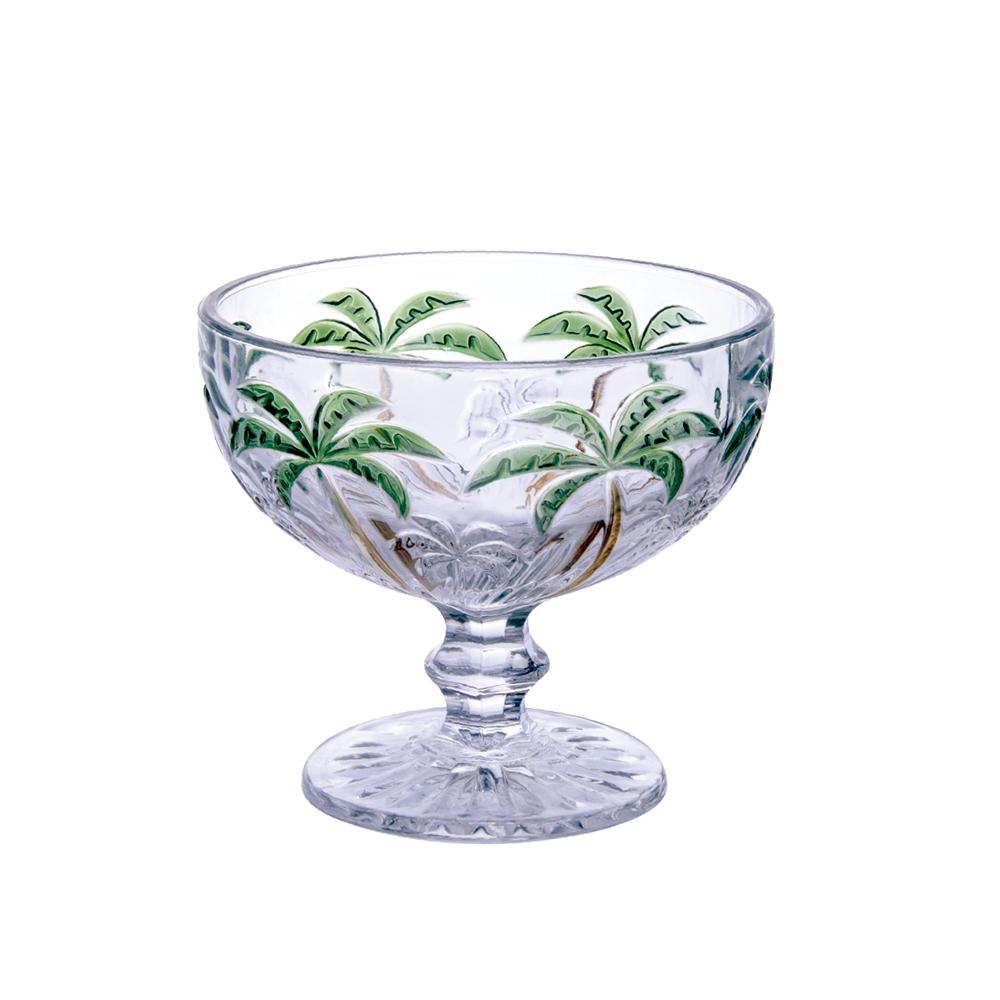 Conjunto Taças Coquetel Coqueiro Palm Tree Color 310ml 6pçs