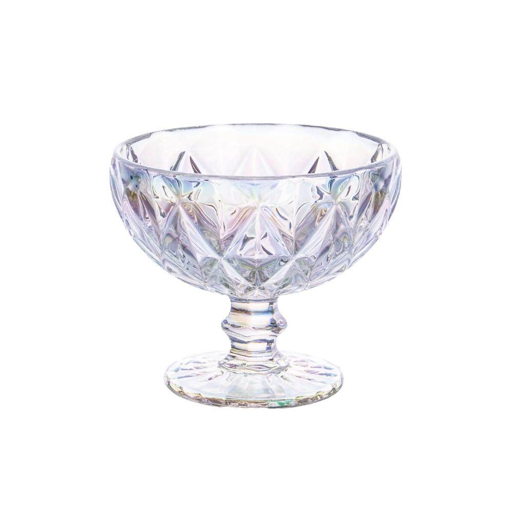 Conjunto Taças Coquetel Diamante  Rainbow 310ml 6pçs Class