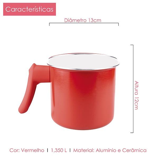 Fervedor de Cerâmica 2.0 mm 12 cm Class Home