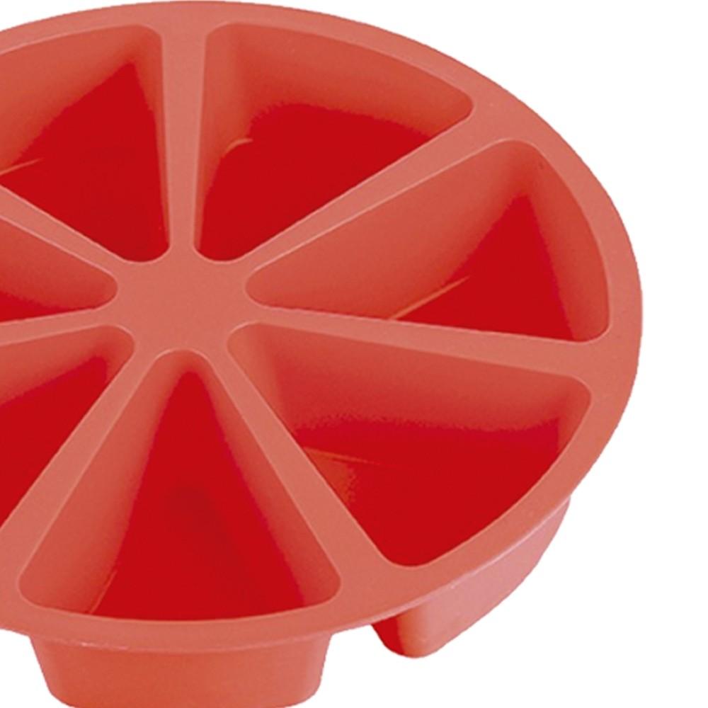 Forma de Bolo ou Tortas Fatias de Silicone 28 cm Class Home