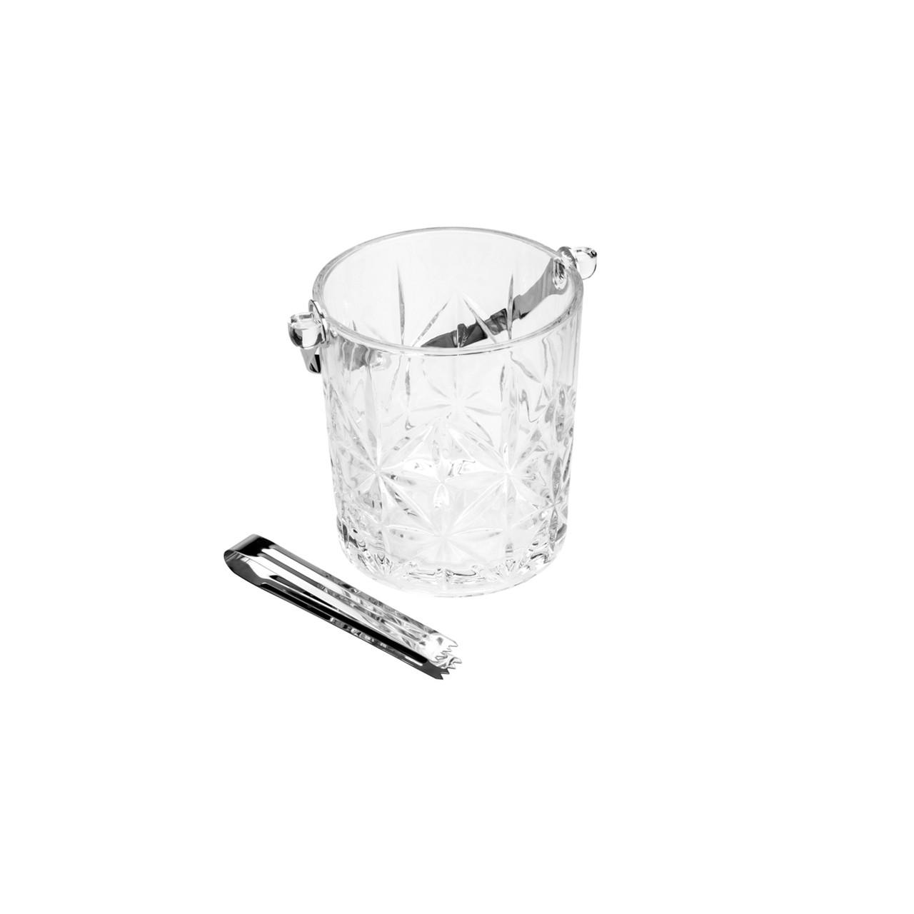 Jarra vidro Sodo-Calcico p/ Gelo c/ alca e pegador Romano