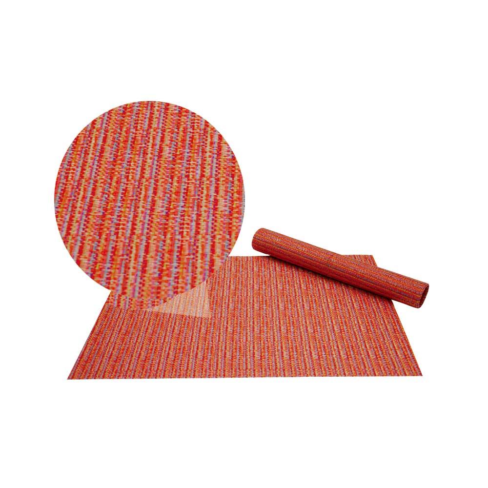 Jogo Americano Colorido Orange 4 Peças Class Home