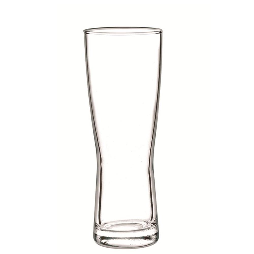 Jogo com 6 copos de Cerveja Milan 391 ML - Cristar