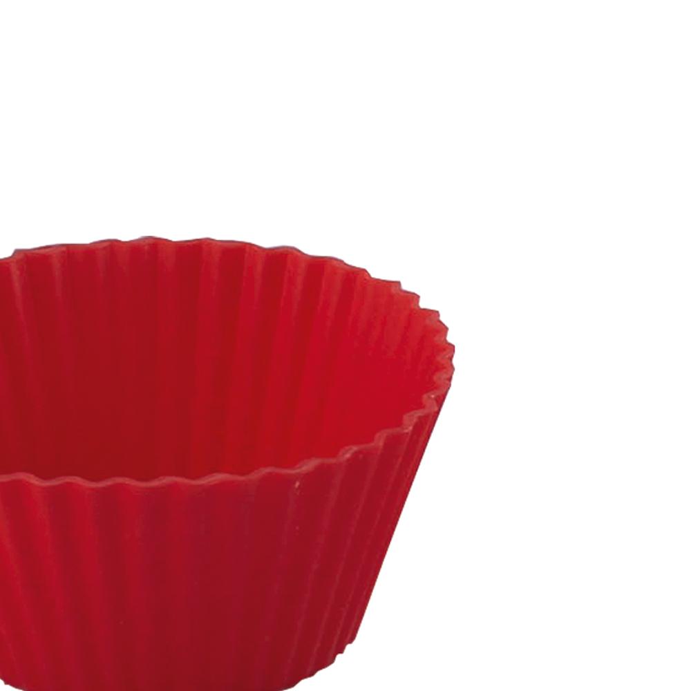 Jogo de 12 Formas Redonda para Confeitaria de Silicone Class Home