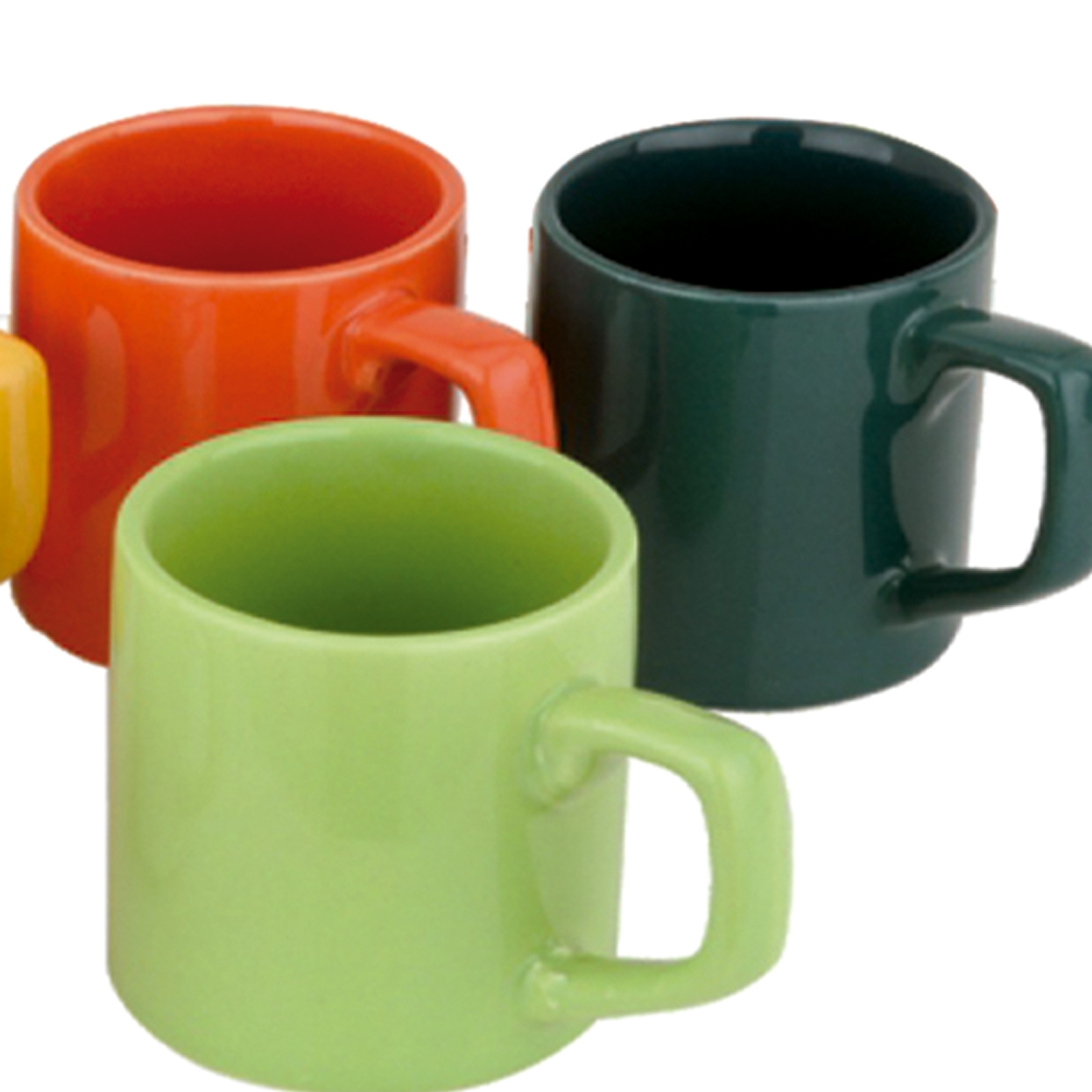 Jogo de Canecas Café Colors 85 ml 6 peças Class Home
