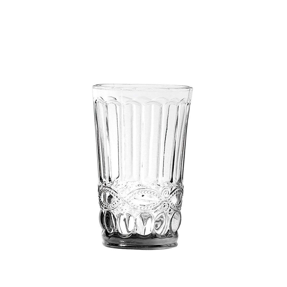 Jogo de Copos Elegance Clear 350ml vidro Class Home