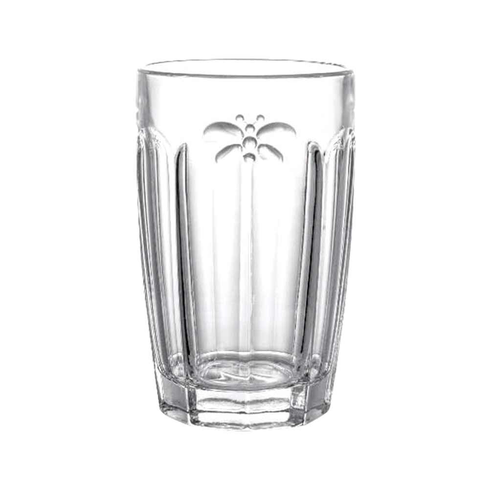 Jogo de Copos Libélula Clear Vidro 6 pçs Class Home