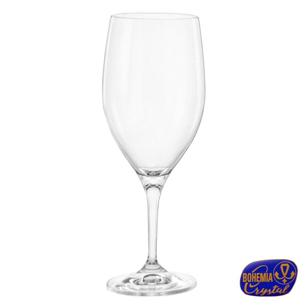 Jogo de Taça de Vinho Bohemia 450 ML 6 Peças