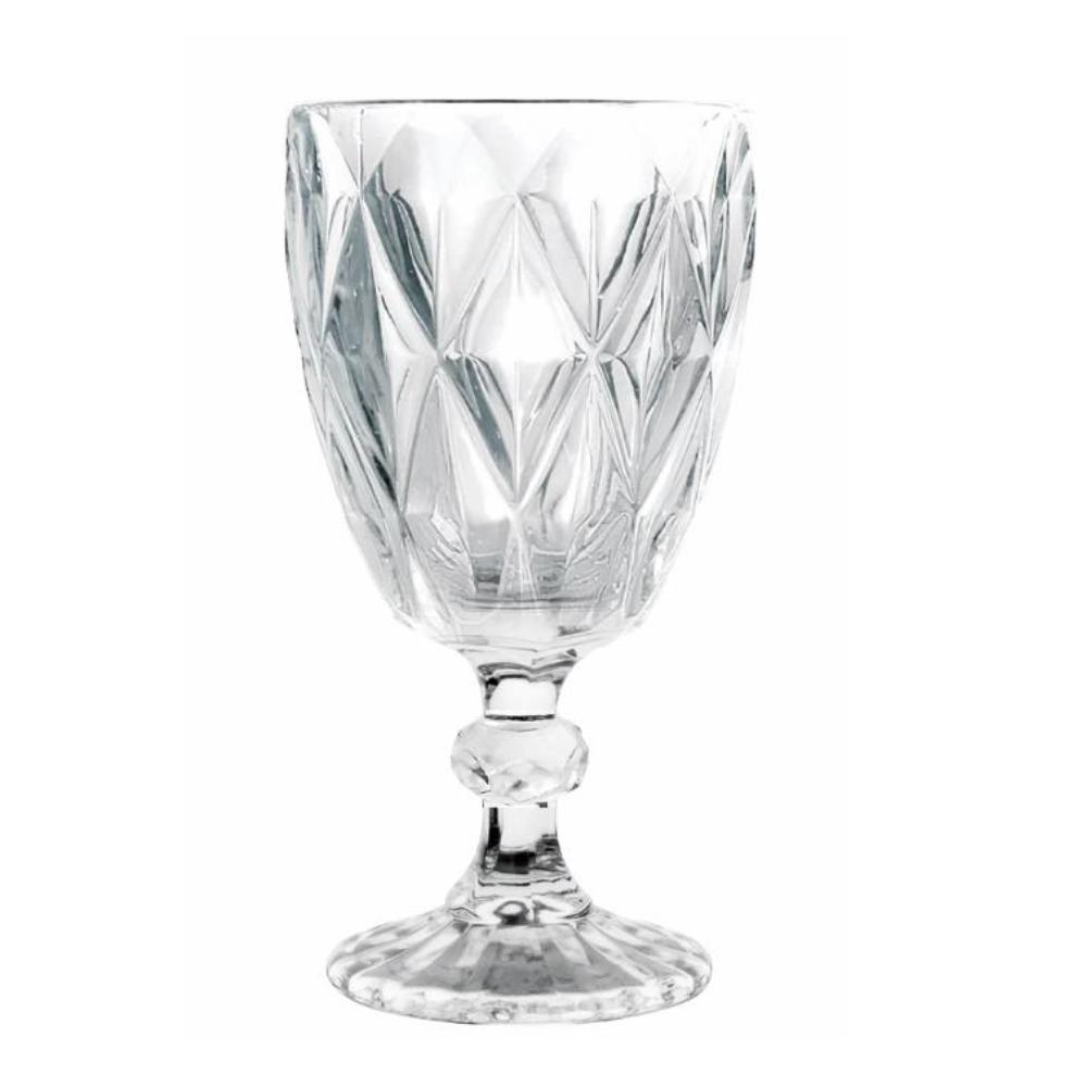 Jogo de Taças Água Diamond 260ml 6pçs Class Home