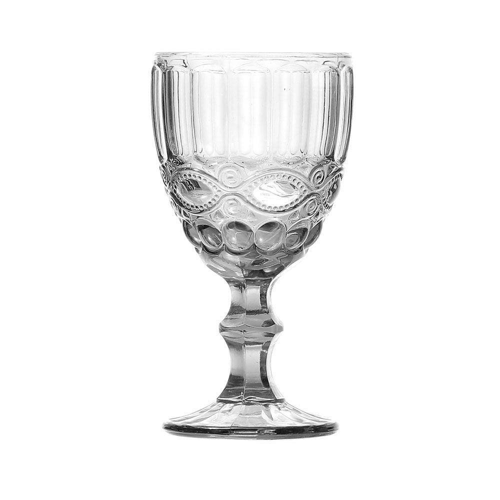 Jogo de Taças Vinho Elegance Clear 210ML Class Home