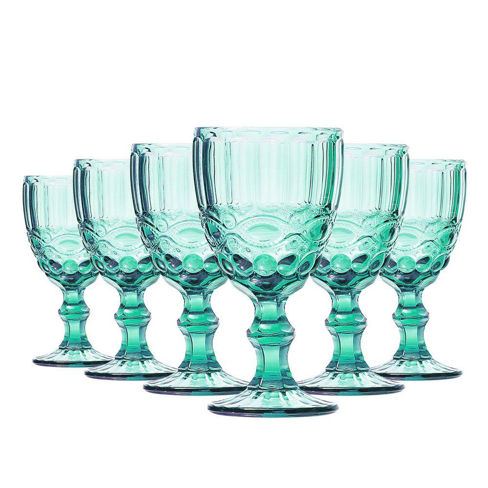Jogo de Taças Vinho Elegance Tiffany 210ml Class Home