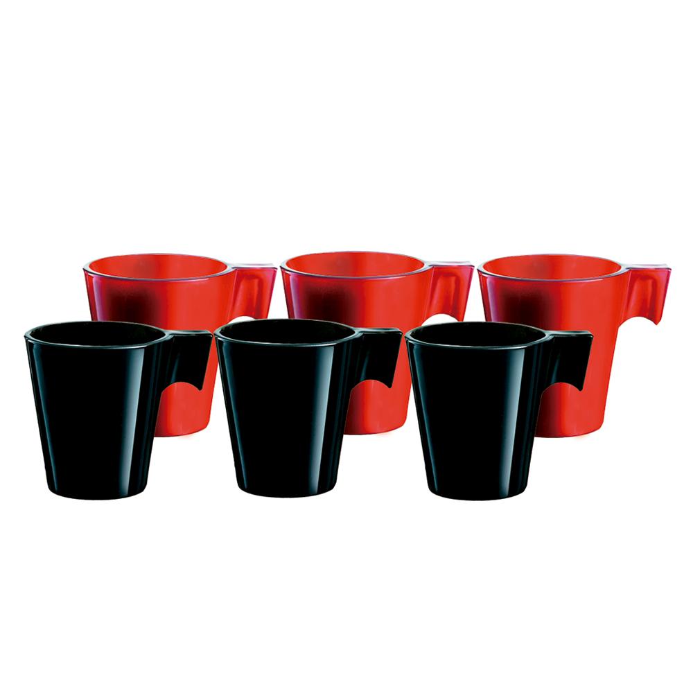 Jogo de Xícaras de Café Expresso 80 ml 6 peças Class Home