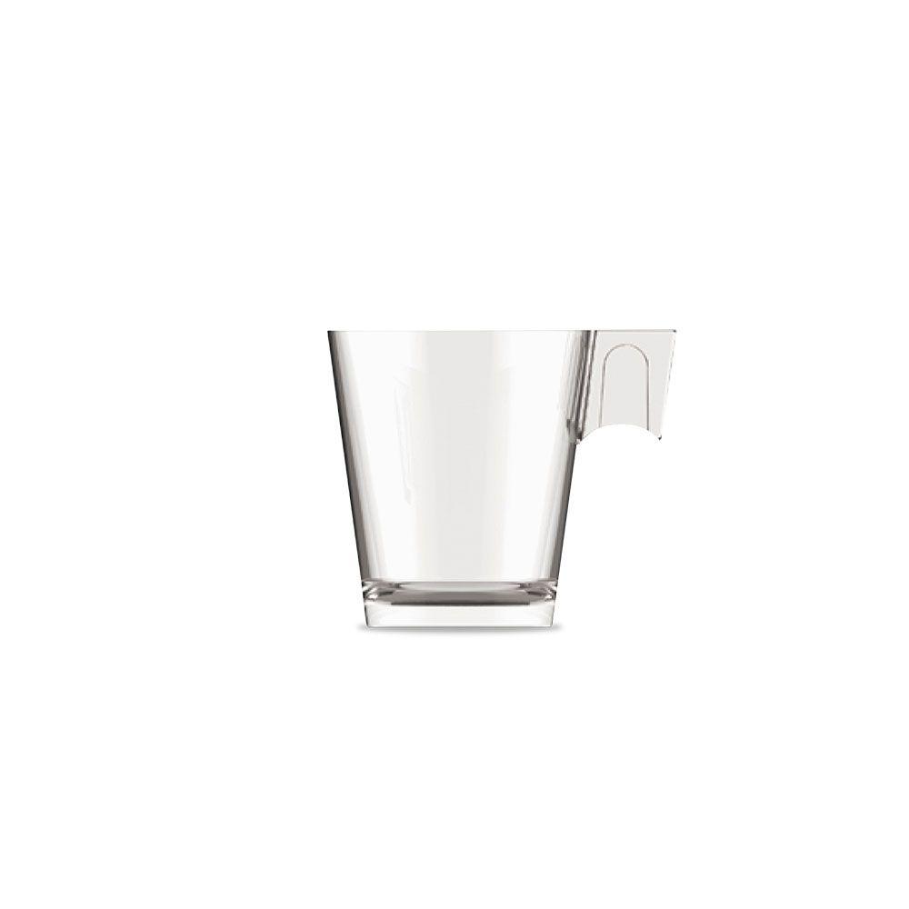 Jogo de Xícaras de Café Expresso 80 ml Vidro 6 peças Class Home