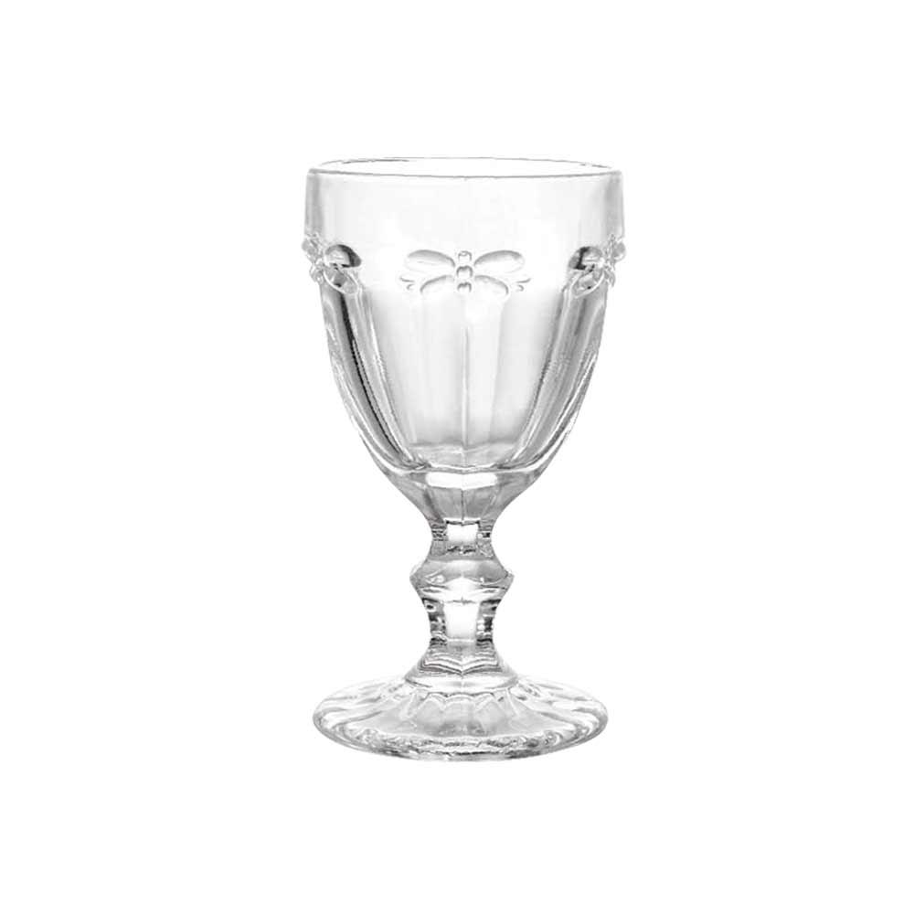 Jogo Taça Água Libélula Clear 260ml