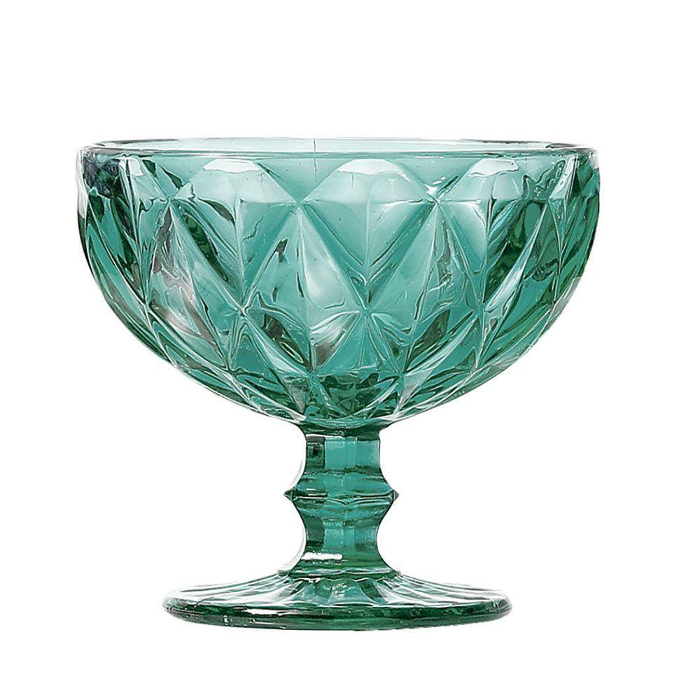Jogo Taças Sobremesa Diamante Tiffany 310ml Class Home