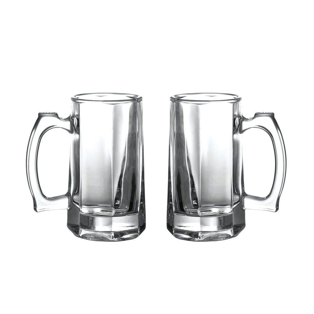 Kit 2 Canecas Chopp 360 ml Vidro - Class Home