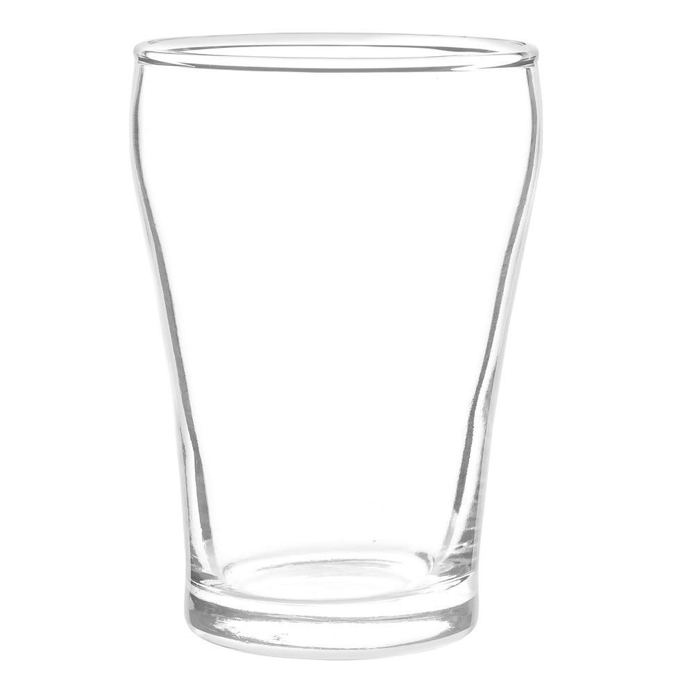 Kit Happy Hour com Jogo de 6 Copos para Cerveja + 2 Petisqueiras de 27,5 e 30 cm - Cristar | Class Home