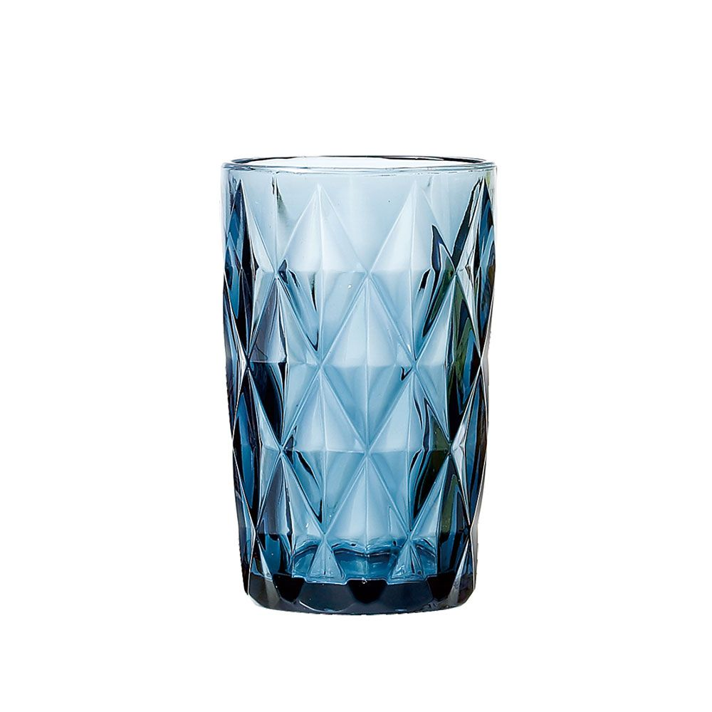 Kit Jarra 1L + 6 Copos Diamante Azul Class Home