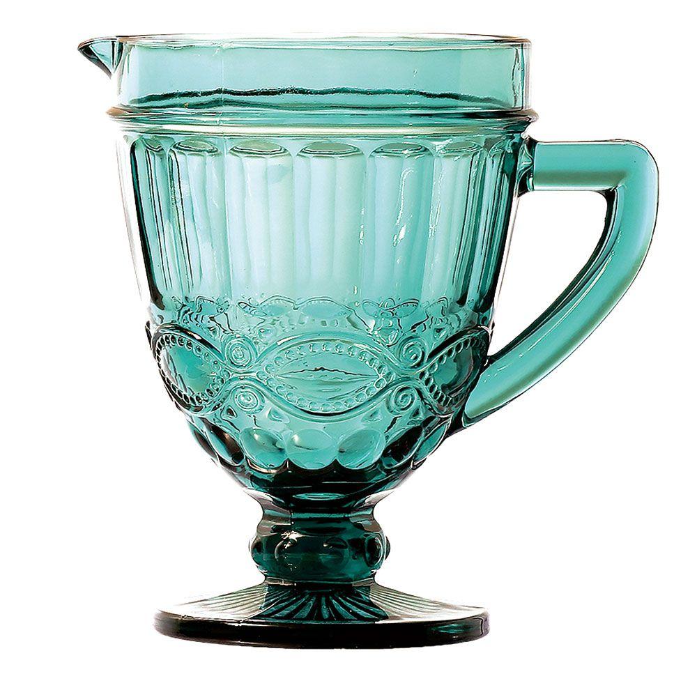 Kit Jarra 1L + 6 Taças Elegance Tiffany Class Home