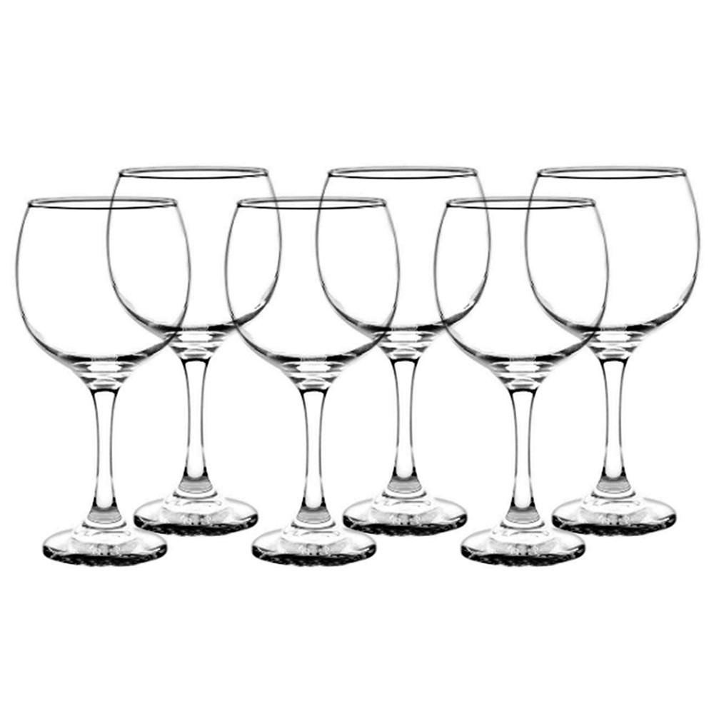 Kit Vinho com Jogo de 6 taças Grand Vinho + Balde de Gelo - Cristar Class Home