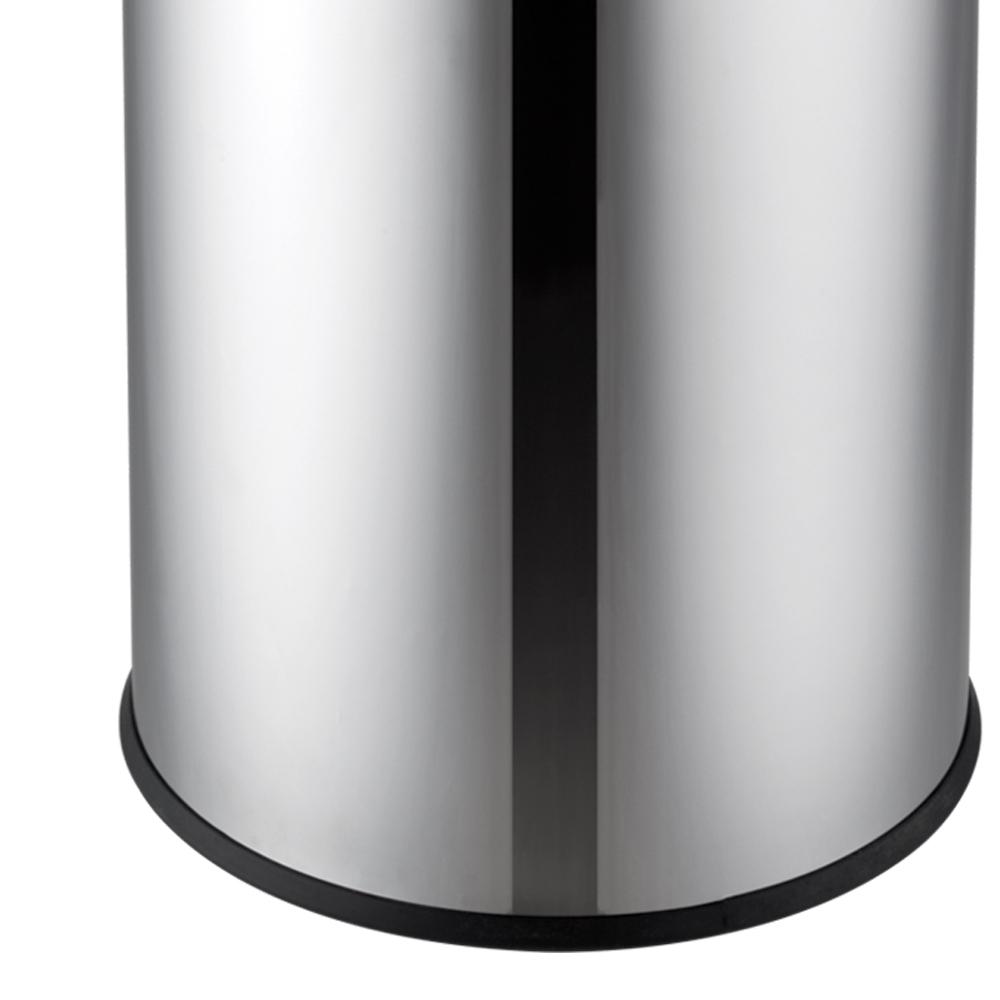 Lixeira Inox c/ Tampa Basculante 5 L