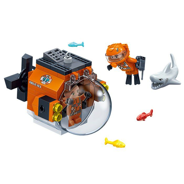 Pesquisa Submersível 84 Peças