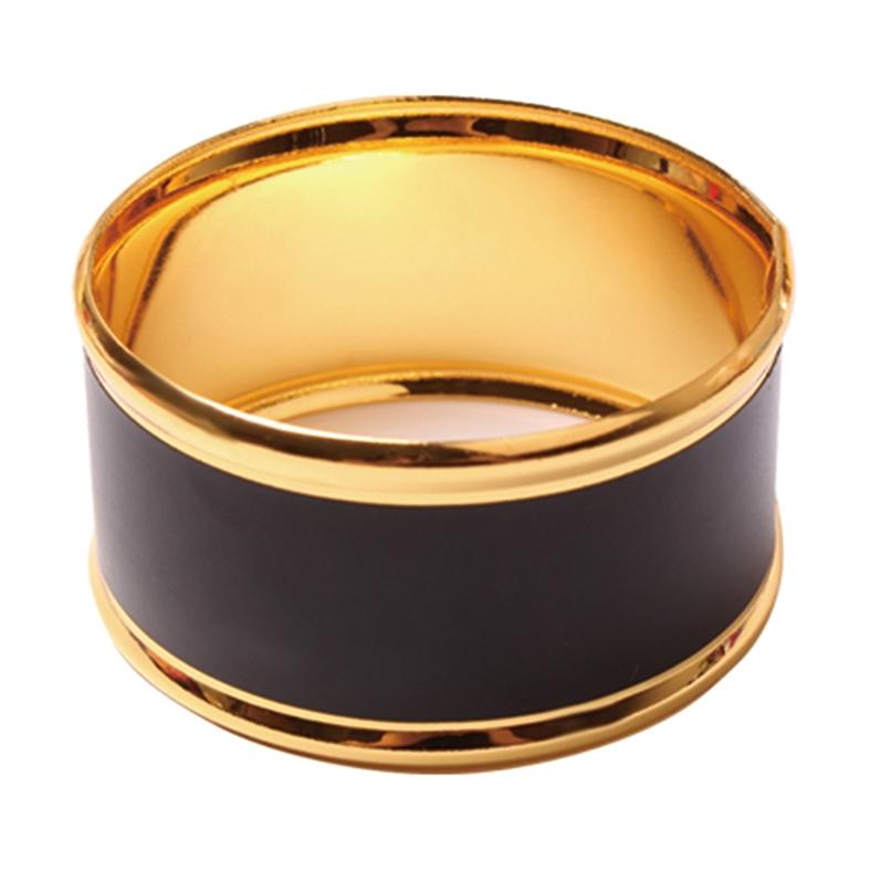 Porta Guardanapo 4 Peças Dourado