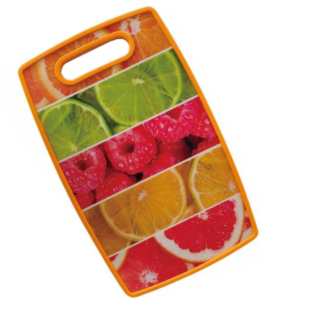 Tábua de Corte 37x23cm Frutas Class Home