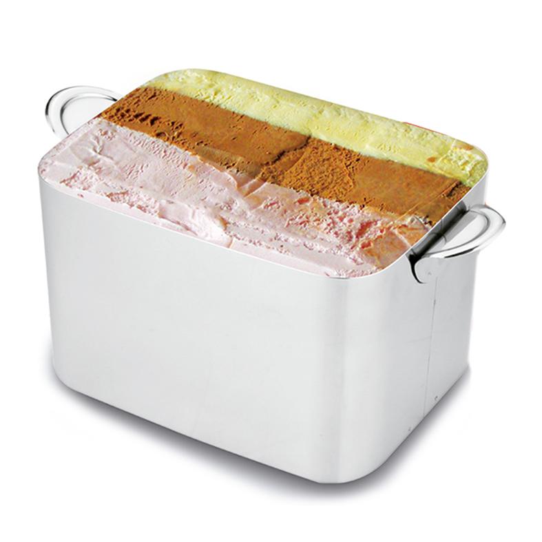 Taças Sobremesa Clear Pote e Colher p/ Sorvete Kit 8 pçs