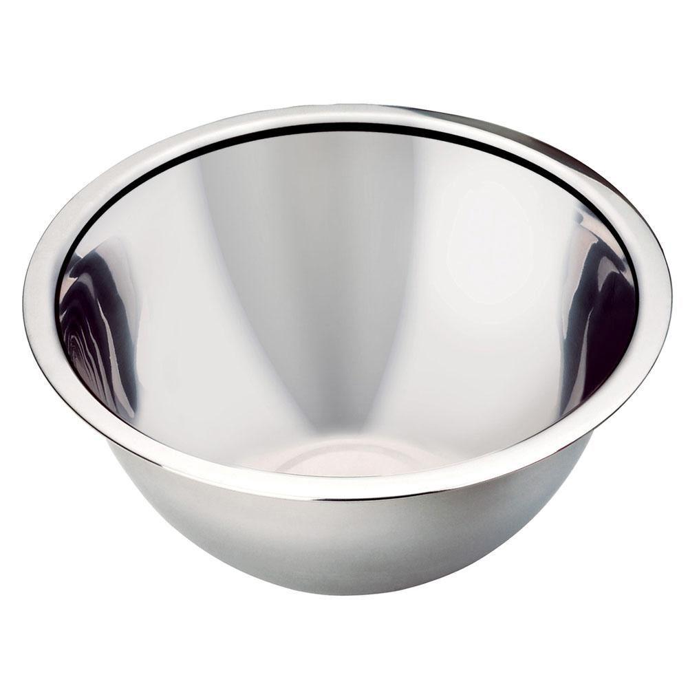 Tigela Bowl em Inox 32 cm Class Home