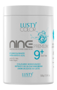 Discolour Power Nine Blue Premium-LUSTY (Pó Descolorante 9 Azul Premium Ultra Rápido) Professional 500 g