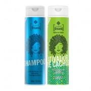 Kit Lusty Dreams - Shampoo e Ativador de Cachos 300ml -  Lusty Professional
