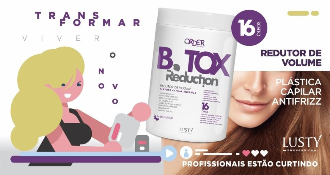 B.tox Reduction Order Professional (Redutor de Volume Profissional) 1000 gr