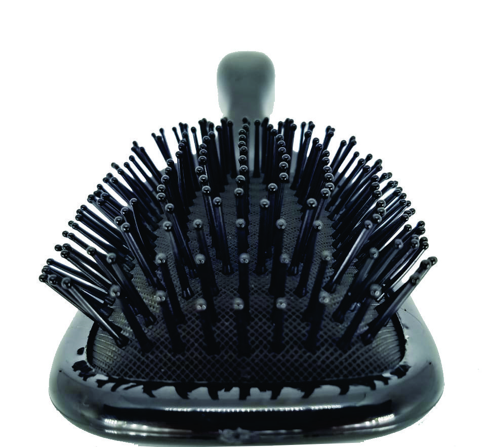 Escova Hair Brush Color (Branca, Azul ou Rosa)