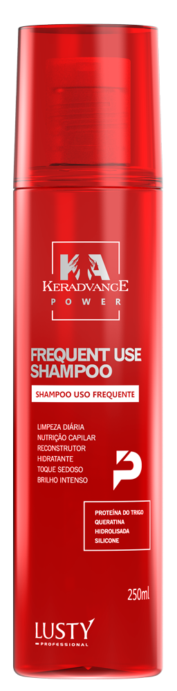 Frequent Use Shampoo Keradvance (Shampoo Uso Frequente Profissional)-250 ml