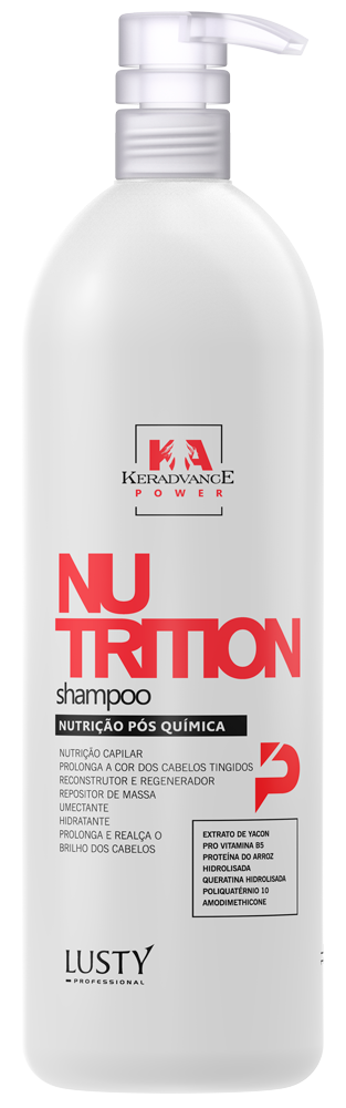 KA PW Nutrition Shampoo - (Shampoo Nutrição Pós Química - Profissional) - 1.000 ml