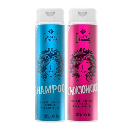 Kit Lusty Dreams - Shampoo e Condicionador 300ml - Lusty Professional