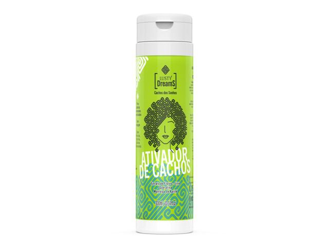 Lusty Dreams - Ativador de Cachos 300 ml (Low Poo / Sem Sal / Anti Frizz)