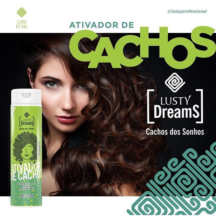 Lusty Dreams - Cachos dos Sonhos (Ativador de Cachos) 300 ml
