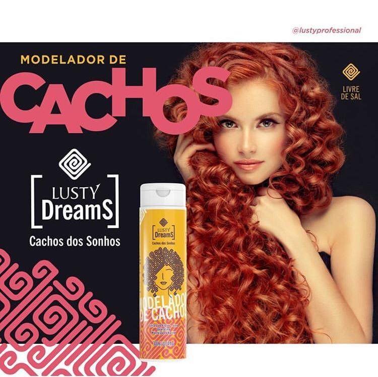 Lusty Dreams - Cachos dos Sonhos (Modelador de Cachos) 300 ml
