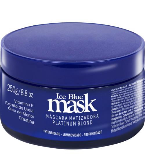 Mascara Matizadora Profissional Iceblue Mask 3D - 250 gr