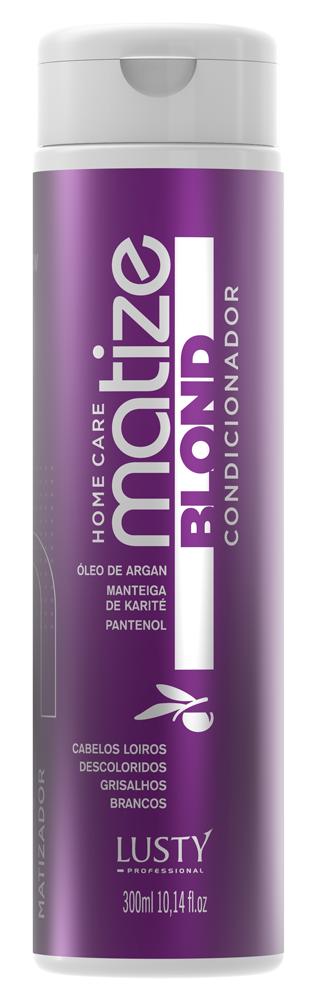 Matize Blond 3D Conditioner (Condicionador Matizador)- Lusty Profissional - 300ml