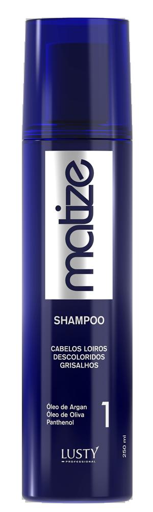 Matize Shampoo LUSTY Professional (Shampoo Matizador) 250 ml