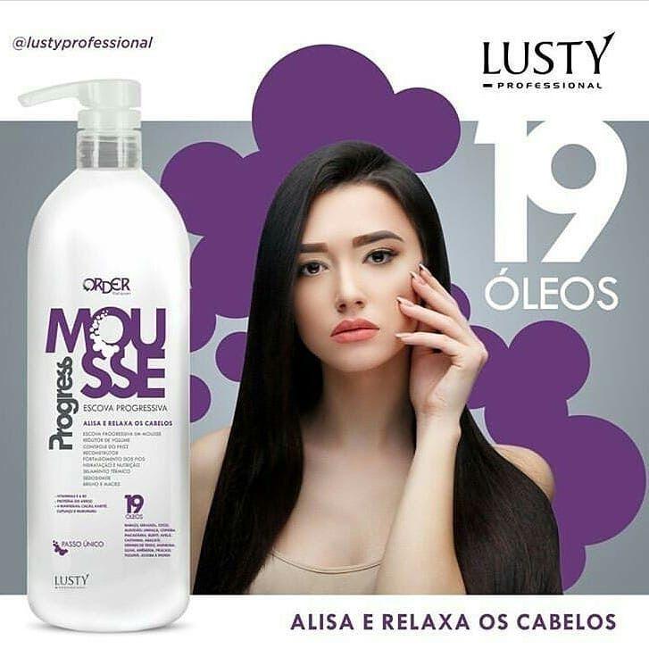 Mousse Progress Order Relaxer (Escova Progressiva Profissional) 1000 ml